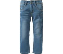 Jeans Slim für Mädchen blue denim