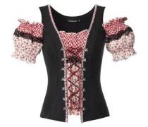 Shirt Vaya rot / schwarz / weiß