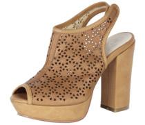 Sandalette karamell / ocker