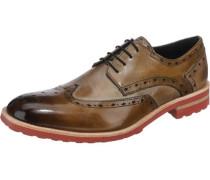 Eddy 5 Business Schuhe beige / braun