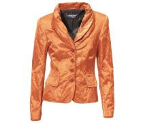 Schalkragen-Blazer orange