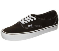 'Authentic Lite Canvas' Sneaker schwarz / weiß