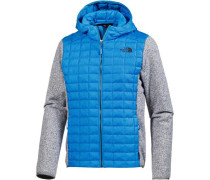 'ThermoBall Gordon Lyons' Fleecejacke blau / graumeliert