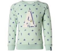 Sweater 'Ferndale' blau / mint