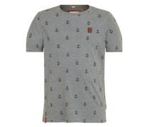 T-Shirt 'El Master Del Buscho Iii' basaltgrau