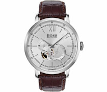 Automatikuhr »Signature Timepiece Collection 1513505« braun