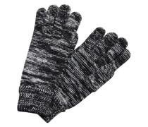 Strick-Handschuhe schwarz
