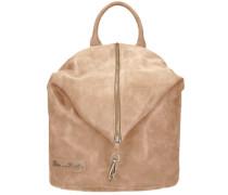 Marit Vintage City-Rucksack 40 cm beige