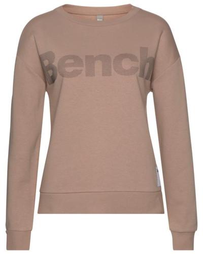 Sweatshirt camel / dunkelgrau