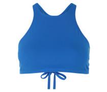 Bikini-Oberteil 'crop Think' blau