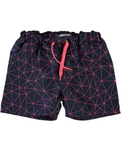 Nitibs Shorts ultramarinblau / pink