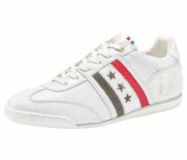 Sneaker 'Imola Romagna Low' khaki / rot / weiß