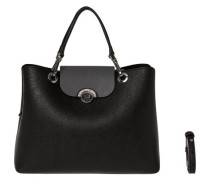 Handtaschen ´effortless Novelty Satchel´ schwarz