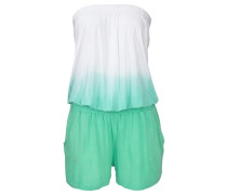 Overall mit Farbverlauf grün / weiß
