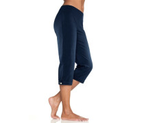Capri-Leggings blau