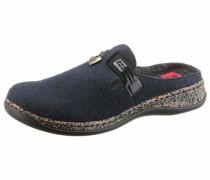 Pantoffel dunkelblau