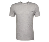 T-Shirt 'SH Christian' grau