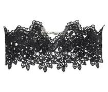 Choker-Halskette aus Spitze schwarz