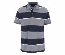 Poloshirt nachtblau / graumeliert