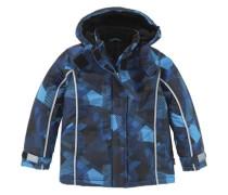 Schneejacke für Kinder blau / grau