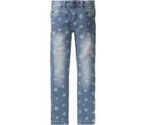 Jeans für Mädchen blau / blue denim / naturweiß