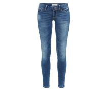 Skinny Jeans 'Jona Ultra Low Deep Blue' blue denim