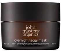 Maske 'Overnight Facial Mask with Pomegranate & Moroccan Rose'