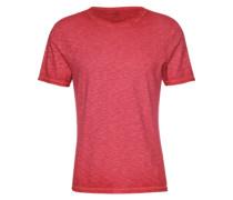 Meliertes T-Shirt 'Cibliss' rot