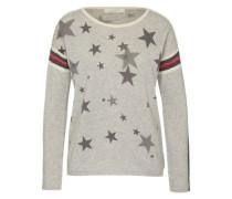 Pullover 'sporty' grau / mischfarben