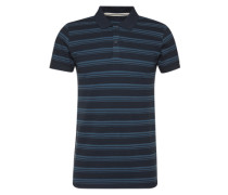 Polo-Shirt navy / royalblau