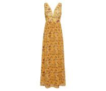 Kleid goldgelb / mischfarben