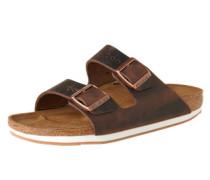 Sandale 'Arizona' beige / braun