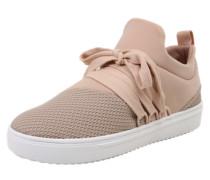Sneaker 'lancer' nude / altrosa