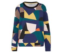 Sweater 'Faunia' blau / grün