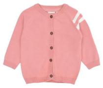 Strick-Cardigan rosa