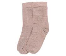 Socken 'Stella shimmery' rosa