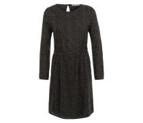 Kleid 'Josefine Dizzy Strokes' schwarz
