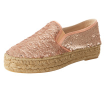 Espadrilles 'Pat' pink / silber