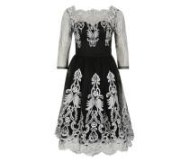 Kleid 'Imogen' schwarz / weiß
