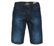 Jeans Bermuda blau