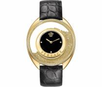 Schweizer Uhr 'Destiny Var100017' schwarz