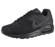 Air Max Command Leather Sneaker schwarz
