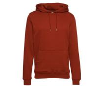 Sweatshirt 'Basic Sweat Hoody' rostrot