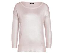 Glanz-Pullover rosa