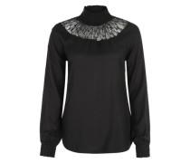 'Antorinette Bluse' schwarz
