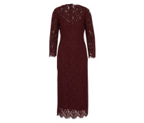 Kleid 'Lace Evening Dress' merlot