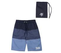 Badeshorts für Jungen mit UV-Schutz 50+ blau / rauchblau / kobaltblau