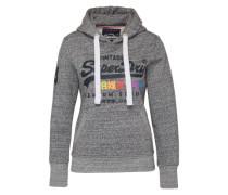 Sweatshirt 'Premium Goods' graumeliert / mischfarben / schwarz