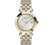 Schweizer Uhr 'V-Race Vcl110017' gold / silber