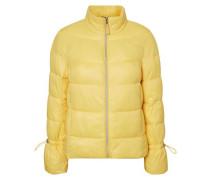 Wattierte Jacke gelb